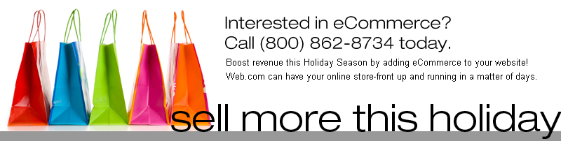 Interested in eCommerce? Call us at (800) 862-8734